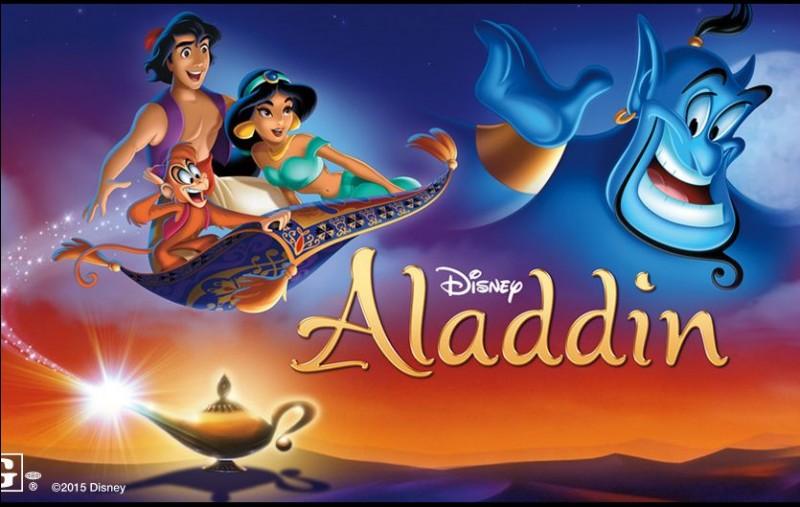 """Laquelle de ses chansons ne provient pas d' """"Aladdin"""" ?"""