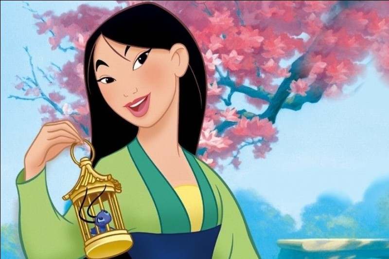 """Quel est le nom du dragon dans """"Mulan"""" ?"""