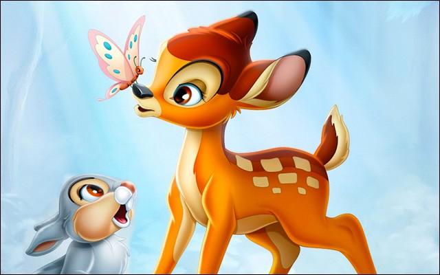 """Quel personnage ne provient pas de l'univers de """"Bambi"""" ?"""
