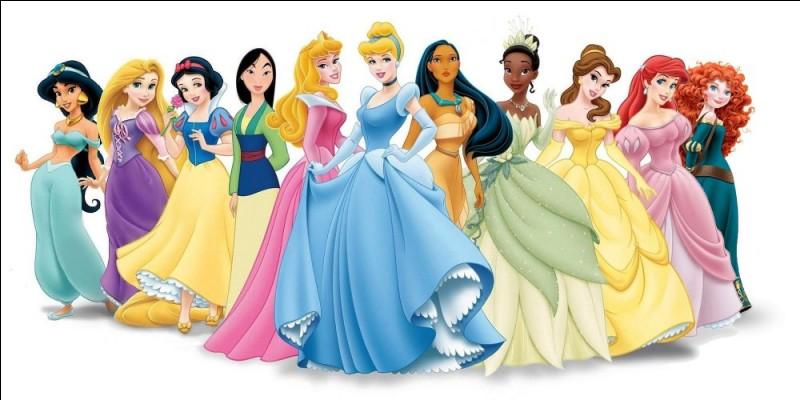 Quelle est la plus jeune de ces princesses Disney ?