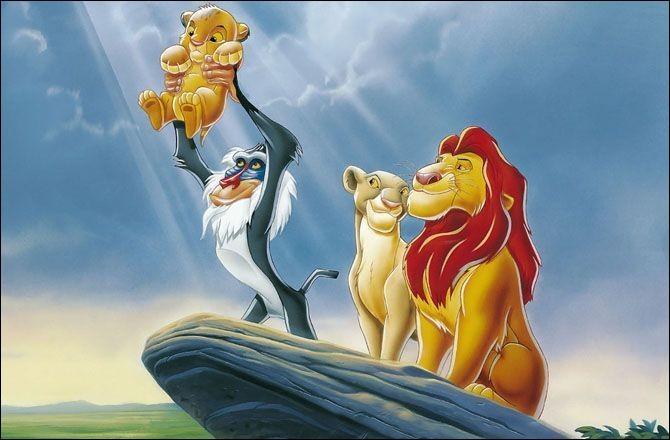 """Quel est le nom de la petite amie de Simba dans """"Le Roi lion"""" ?"""