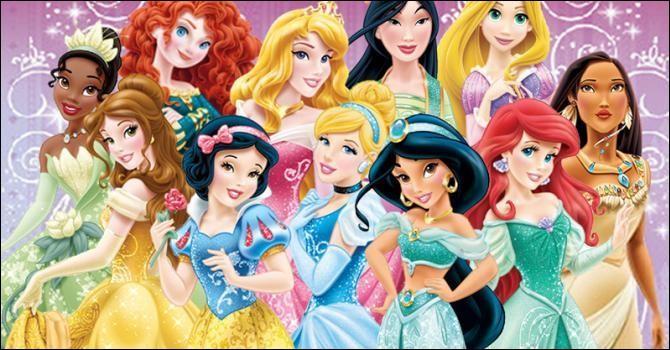 Lesquelles de ces princesses n'ont pas eu d'adaptation en film par Disney ?