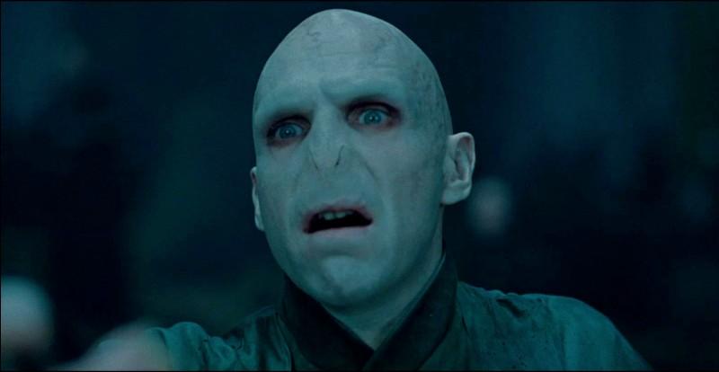 """Dans la franchise """"Harry Potter"""", quel est le nom du principal méchant ?"""