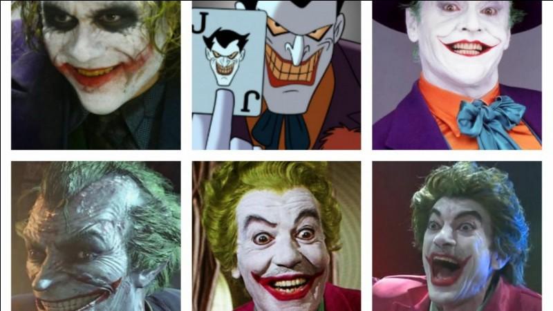 On le désigne souvent comme l'ennemi intime de Batman dans la série éponyme. De qui s'agit-il ?