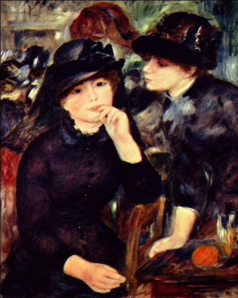 """Quel peintre a réalisé le tableau """"Jeunes filles en noir"""" ?"""