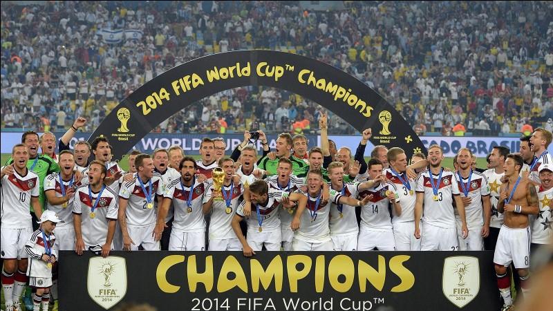 Les Allemands ont-ils remporté la finale de la Coupe du Monde 2014 après les tirs au but ?