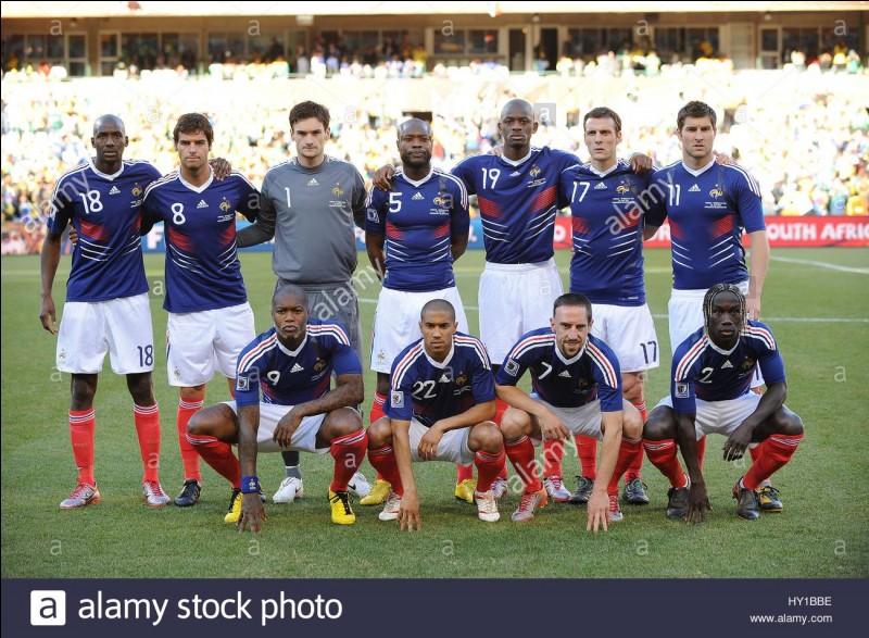 La France à la Coupe du Monde 2010 était-elle dernière de son groupe ?