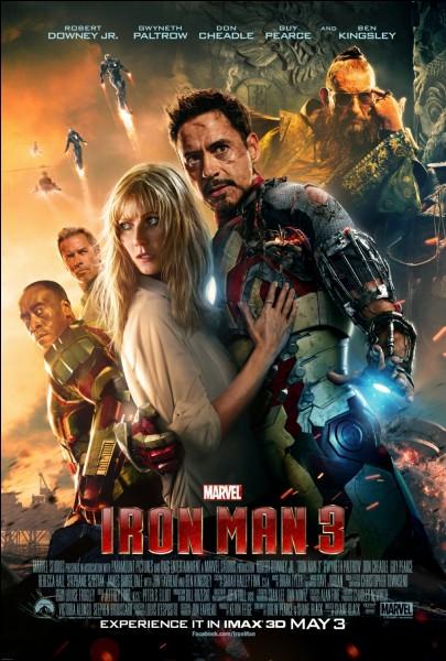Comment s'appelle le petit garçon qui aide Iron Man dans le film n° 3 ?