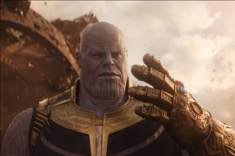 Quel est le but de Thanos ?