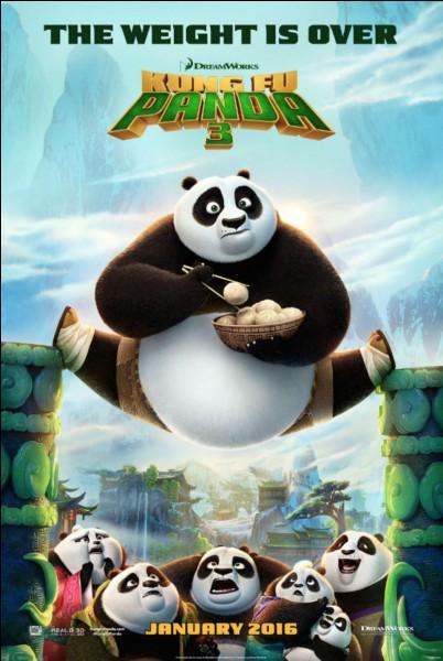 """""""Kung Fu Panda"""" est un film d'animation produit par les studios Disney."""