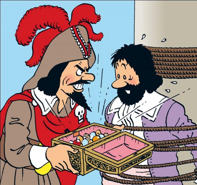 Quel est le prénom du pirate le Rouge ?