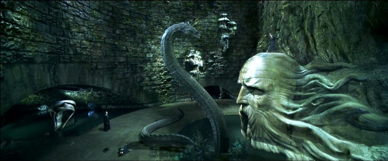Où se trouve l'entrée de la chambre des secrets ?