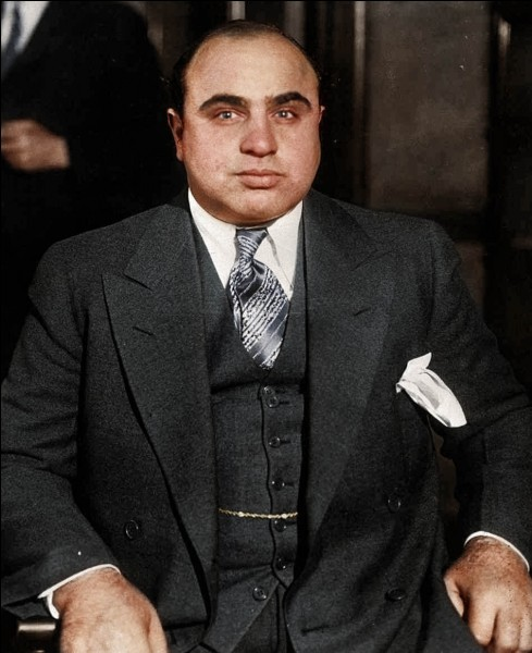 Al Capone est né le 17 février 1899.