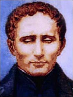 Qui est ce Louis, inventeur du système d'écriture tactile à l'usage des aveugles et malvoyants ?