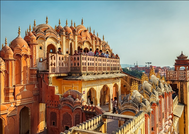 """En Inde, quelle ville porte le surnom de """"Ville rose"""" ?"""