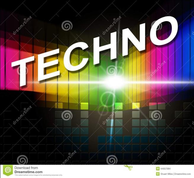 De quelle ville américaine la musique techno est-elle partie ?