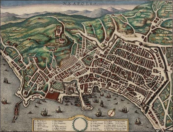 Sous quel nom Naples fut-elle fondée durant l'Antiquité ?