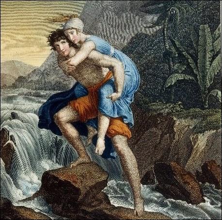 Quel est ce binôme fusionnel du roman de 1788 écrit par Jacques-Henri Bernardin de Saint-Pierre ?