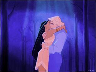 De qui Pocahontas est-elle amoureuse ?