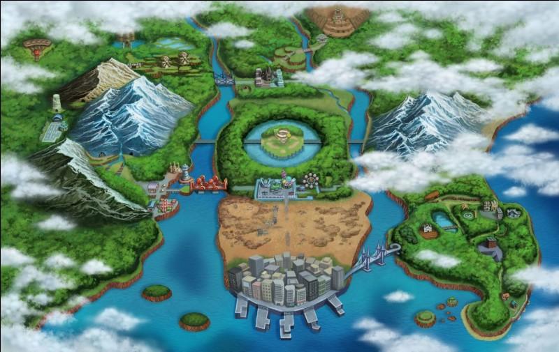 Dans quelle ville de Sinnoh une fille masse-t-elle nos Pokémon ?