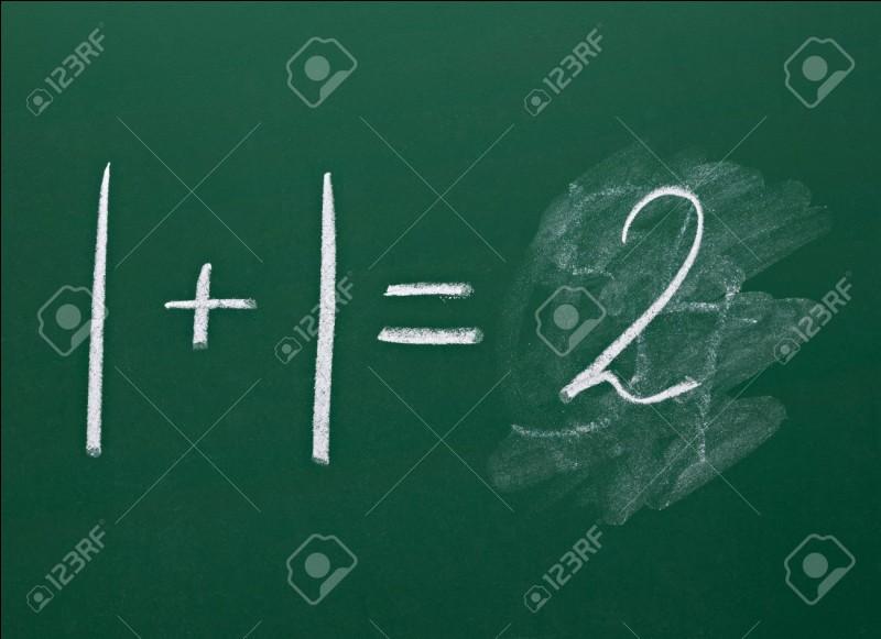 Une équation du premier degré admet quoi comme solution ?