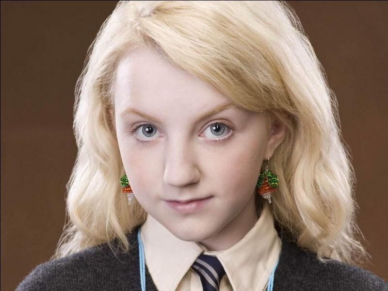 Luna vient dans le film Harry Potter et...
