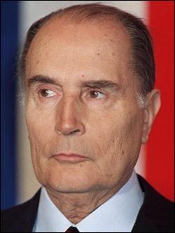 Qui est ce François, avocat et président de la République du 31 mai 1981 au 17 mai 1995 ?