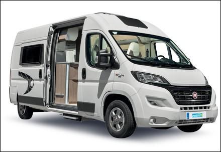 Ce van abrite une partie sanitaire, un coin cuisine et un coin de repos. Il s'agit d'un...