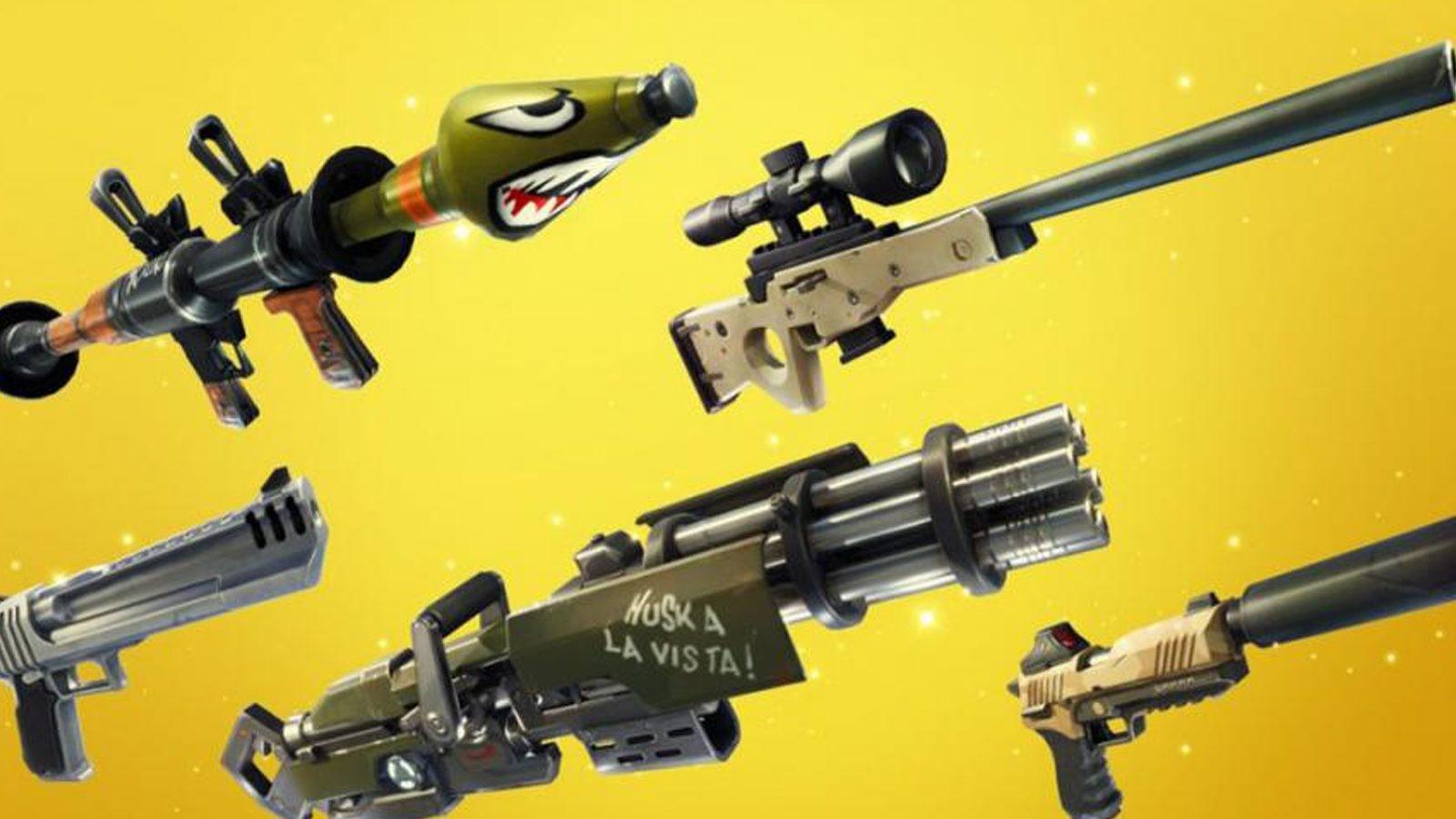 Peux-tu reconnaître ces armes ?