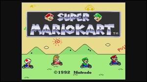 Dans ''Super Mario Kart'', quel personnage n'est pas présent ?
