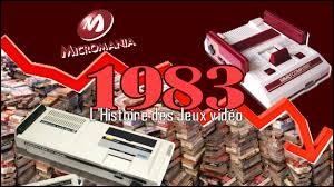Quel jeu a causé en grande partie le krash du jeu vidéo de 1983 ?