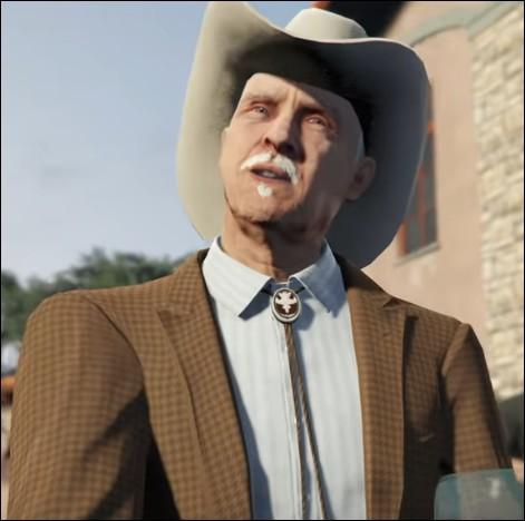 Comment se nomme le Texan du DLC Casino ?