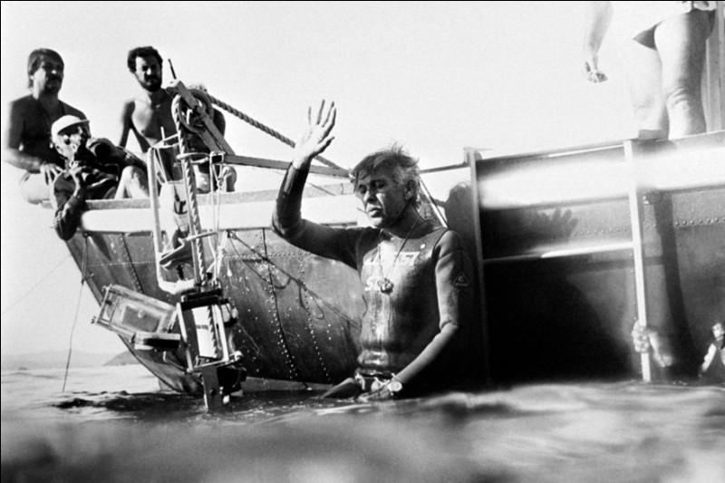 Plongeur français, précurseur de la discipline dans le milieu des années 1970. Qui est-il ?