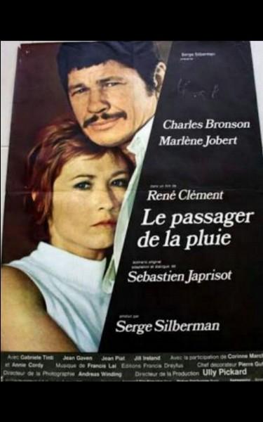 """Dans le film """"Le Passager de la pluie"""", on se souvient que Bronson surnomme Marlène Jobert """"Love Love"""", mais quel était son vrai prénom ?"""