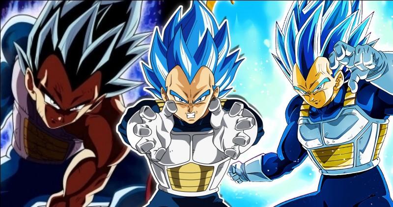 Quelle(s) transformation(s) a/ont dû atteindre Vegeta que Goku n'a pas atteint ?