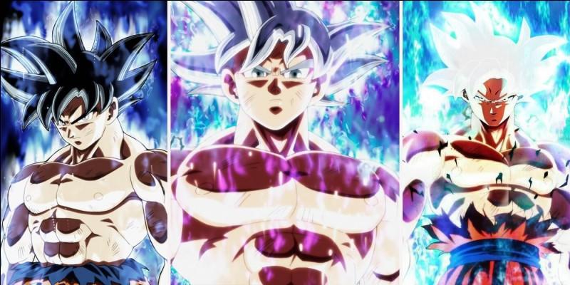 Quelle(s) transformation(s) a/ont atteint Goku que Vegeta n'a pas atteint ?