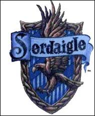 Sur ce blason de Serdaigle, quel animal est représenté ?