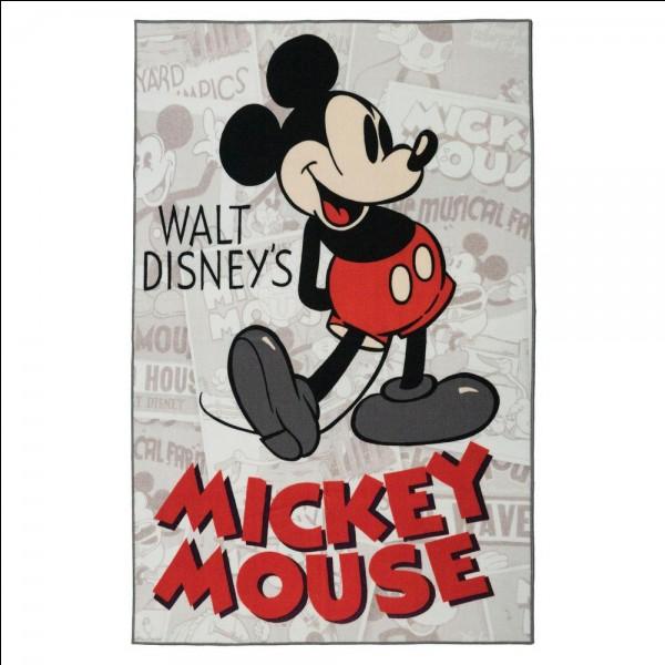 Mickey est-il le premier à être créé par Walt Disney ?