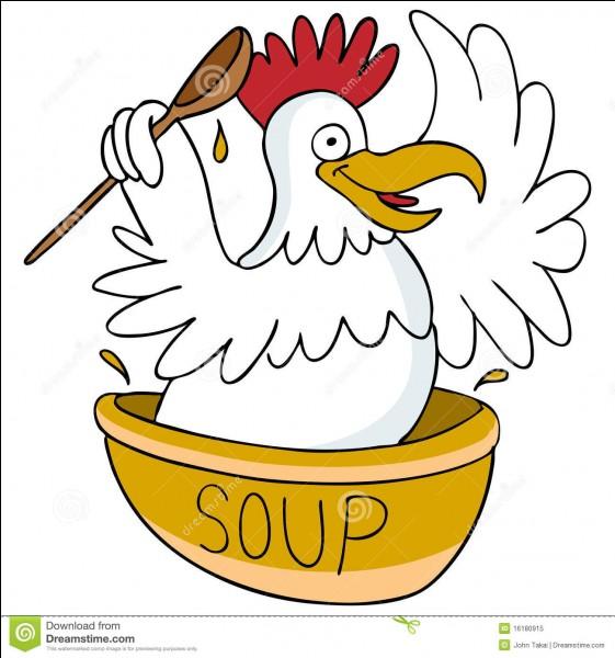 """Qui disait au personnage principal de son roman """"Blaise, mon ami, va lui chercher une petite tasse de bouillon poule !"""" ?"""