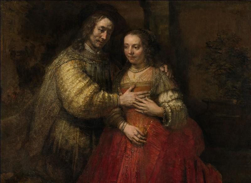 """Quel célèbre peintre hollandais du XVIIe siècle a peint """"La fiancée juive"""" ?"""