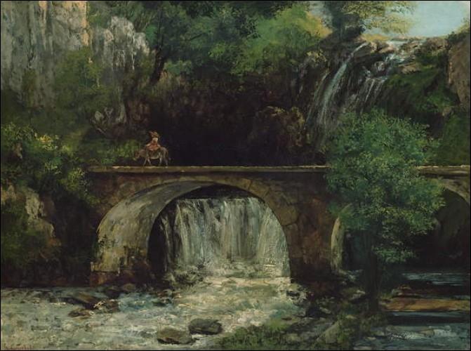 """""""Paysage avec pont"""" est l'œuvre de ..."""