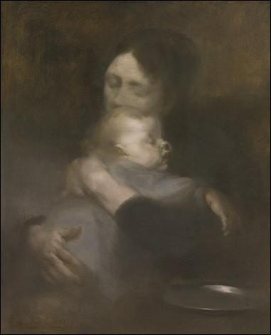 """Qui a réalisé le tableau """"Maternité, tendresse"""" ?"""