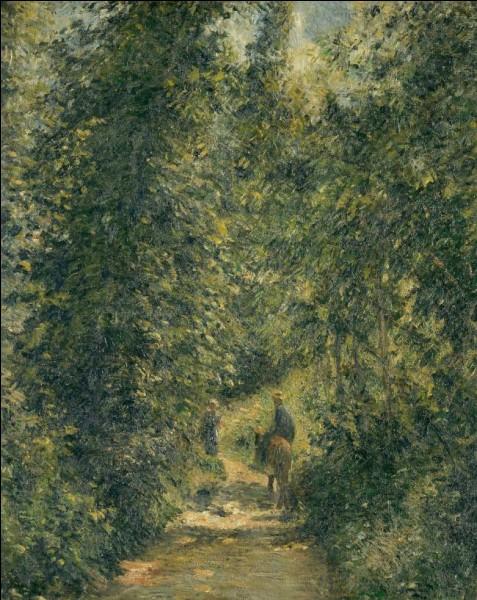 """Quel impressionniste est l'auteur du tableau """"Chemin sous bois en été"""" ?"""