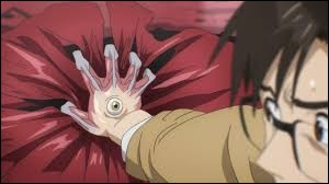 Quand Sin'ichi s'est percé le cœur, où Migi l'a-t-il emmené ?