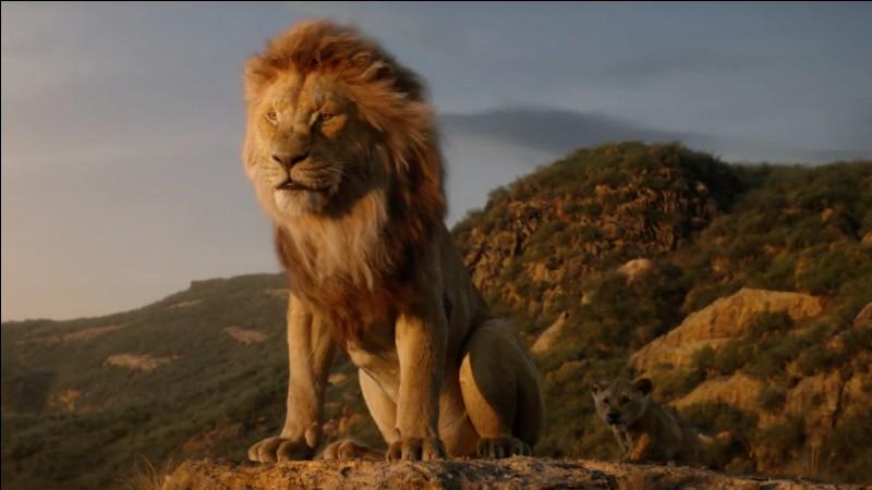 """Rayane Bensetti fait la voix du méchant Scar dans le """"Roi lion""""."""
