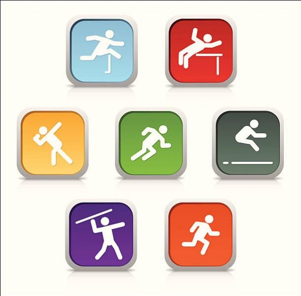 Quelle discipline n'est pas incluse dans l'heptathlon féminin ?