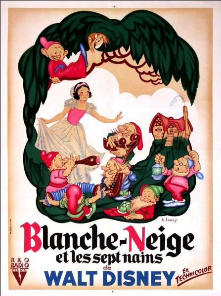 Quel est le titre de ce film d'animation des studios Disney sorti en 1937 ?