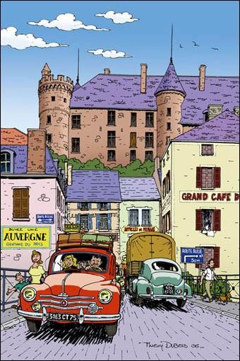"""Quelle est cette route mythique reliant Paris à Menton (996 km) appelée """"route des vacances"""" ?"""