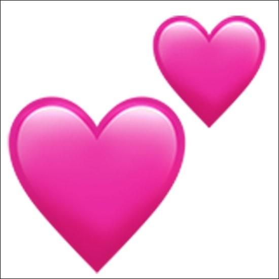 Que signifie les deux cœurs ?