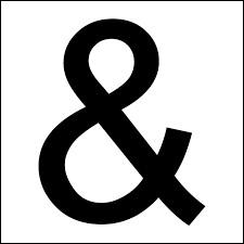 """Comment se nomme le signe """"&"""" ?"""